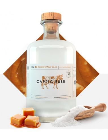 Liqueur au Lait de Vache Saveur Caramel et Fleur de Sel - la Capricieuse - Chai N°5