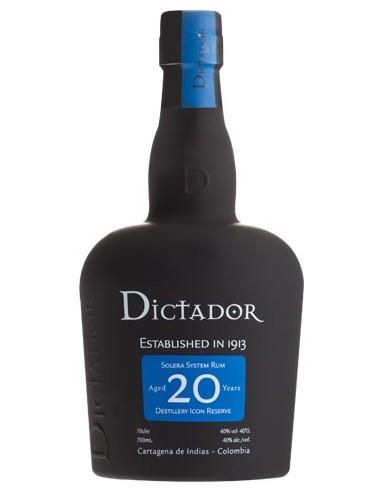 Rhum Dictador 20 ans - Chai N°5