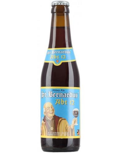 Bière St. Bernardus Abt 12 33 cl 10% - Chai N°5