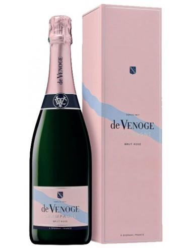 Champagne De Venoge Rosé - Chai N°5