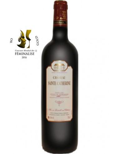 Vin Château Sainte-Catherine 2014 Cadillac Côtes de Bordeaux - Chai N°5