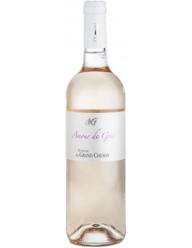 Vin Rosé Amour de Gris 2018 - Domaine du Grand Chemin - Chai N°5