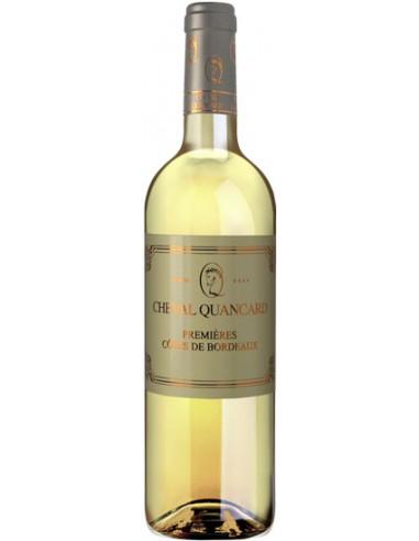 Vin Cheval Quancard Blanc Doux 2016 - Chai N°5