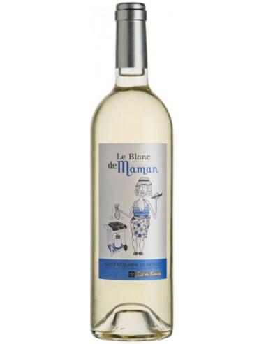 Vin Le Blanc de Maman 2018 - Vignoble des 3 Châteaux - Chai N°5
