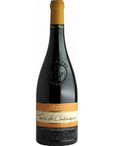 Vin Terre de Châtaignier Chatus 2015 - Les Vignerons Ardéchois - Chai N°5
