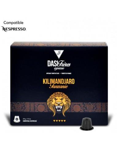 Café Capsules Kilimandjaro Tanzanie par 50 - Chai N°5