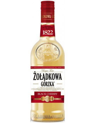 Vodka Zoladkowa Gorska Black Cherry - Chai N°5