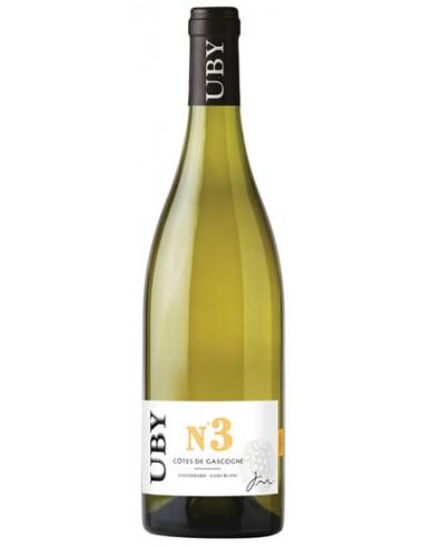 Vin Uby N°3 Colombard Ugni Blanc 2017 - Domaine Uby - Chai N°5