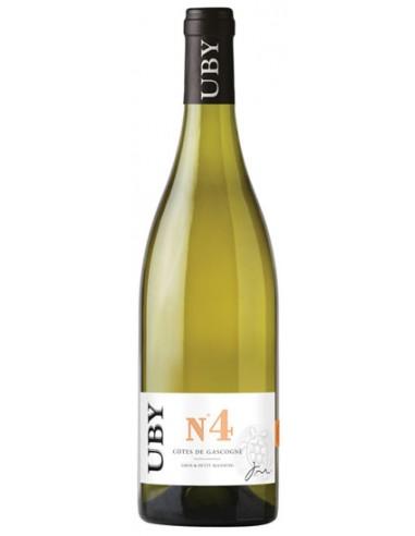 Vin Uby N°4 Gros et Petit Manseng 2020 - Domaine Uby - Chai N°5