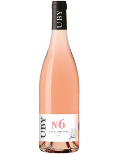 Vin Uby Rosé N°6 2016 - Domaine Uby - Chai N°5