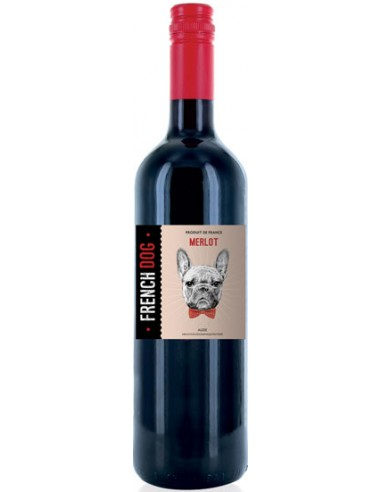 Vin French Dog Rouge 2017 - Yvon Mau - Chai N°5