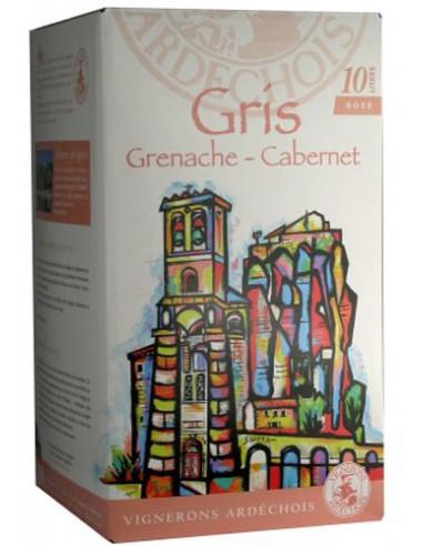 Bib Gris de Grenache Cabernet 5 L - Les Vignerons Ardéchois - Chai N°5