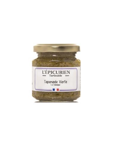 Tartinables Tapenade Verte 100g - L'Epicurien - Chai N°5
