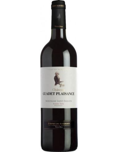 Vin Château Guadet Plaisance 2014 Montagne Saint-Emilion - Chai N°5