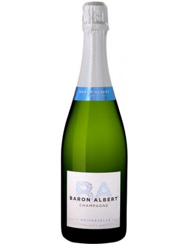 Champagne Baron Albert L'Universelle Brut en 37.5 cl - Chai N°5
