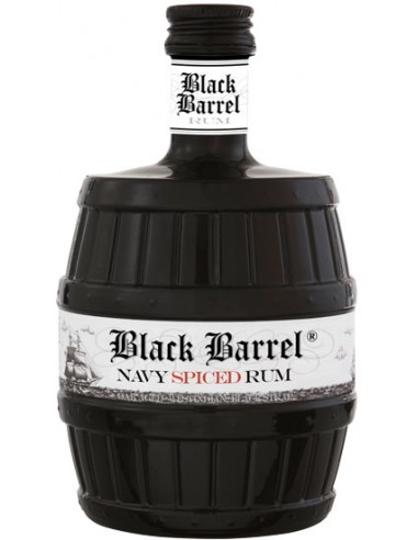 Rhum Black Barrel Navy Spiced Rum - Chai N°5