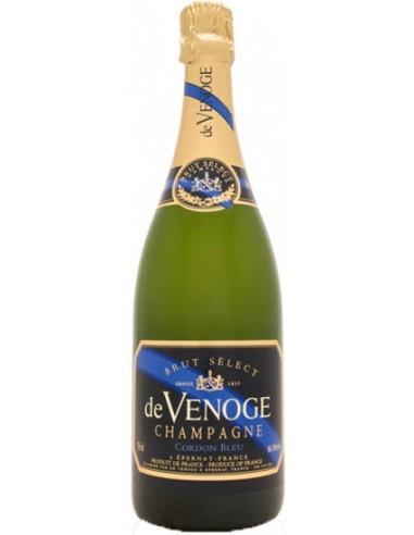 Champagne De Venoge Cordon Bleu Brut Mathusalem - Chai N°5
