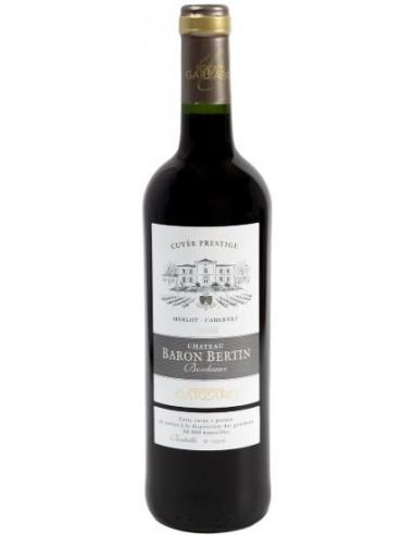 Vin Château Baron Bertin 2015 Cuvée Prestige - Vignobles Garzaro - Chai N°5