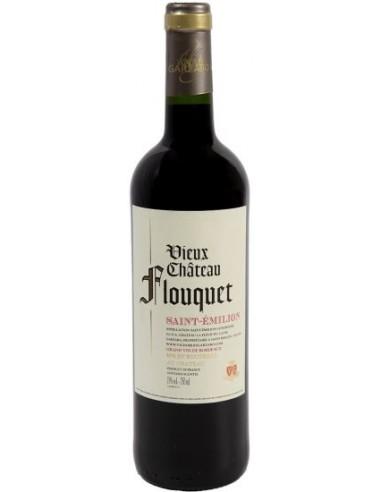 Vin Vieux Château Flouquet 2015 Saint-Emilion - Vignobles Garzaro - Chai N°5