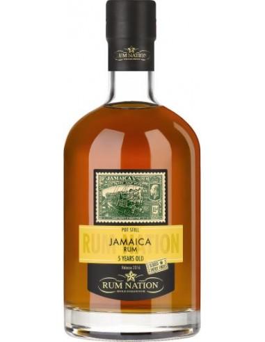 Rum Nation Jamaica 5 ans Finish Oloroso - Chai N°5