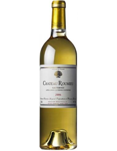 Vin Château Roumieu 2015 Sauternes - Chai N°5
