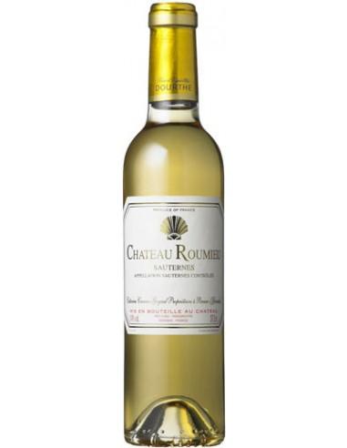 Vin Château Roumieu 2013 - 37.5 cl - Sauternes - Chai N°5