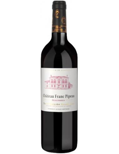 Vin Château Franc Pipeau 2015 Saint-Emilion Grand Cru Magnum - Chai N°5