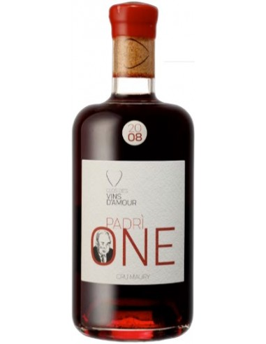 Vin Padri One 2007 Cru Maury - Clos des Vins d'Amour - Chai N°5