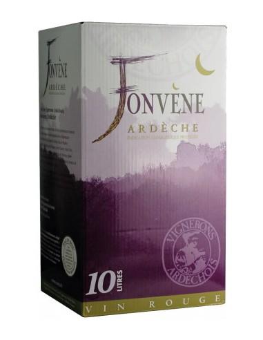 Vin Bib Fonvène Rouge 10 L - Les Vignerons Ardéchois - Chai N°5