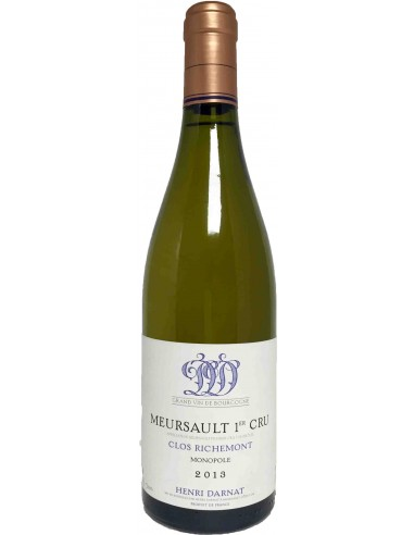 Meursault Premier Cru - Clos Richemont Monopole - 2013 - Henri Darnat - Chai N°5
