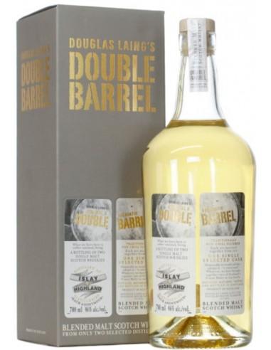 Whisky Double Barrel Islay Highland - Dougla's Laing - Chai N°5