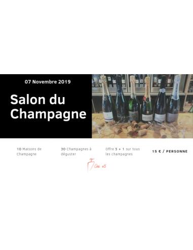 Soirée Champagne du 7 Novembre 2019