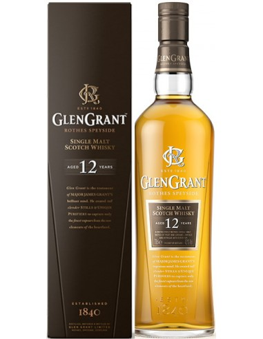Whisky Glen Grant 12 ans Single Malt - Chai N°5