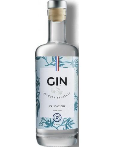 Gin l'Audacieux de la Distillerie d'Hautefeuille - Chai N°5