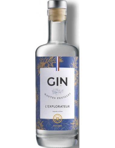 Gin l'Explorateur de la Distillerie d'Hautefeuille - Chai N°5