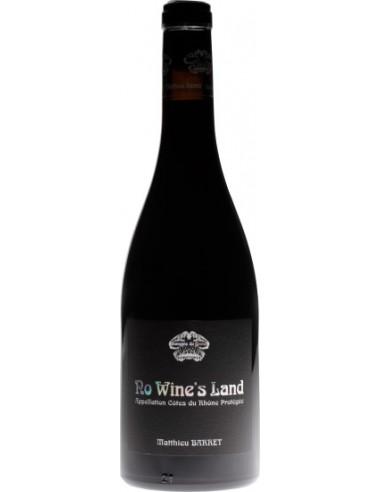 Vin No Wine's Land 2018 - Domaine du Coulet - Chai N°5