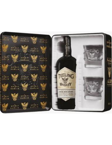 Whisky Teeling Small Batch Coffret + 2 Verres - Chai N°5