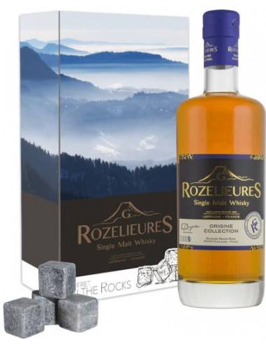 Whisky Coffret Rozelieures The Rocks Origine - Chai N°5
