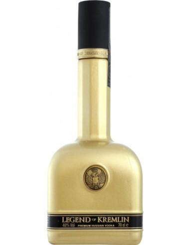 Vodka Légende du Kremlin dorée - Chai N°65