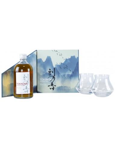 Whisky Tokinoka White + 2 Verres en Coffret - Chai N°5