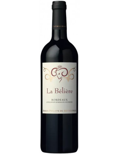 Vin La Bélière Rouge 2018 - Baron Philippe de Rothschild - Chai N°5