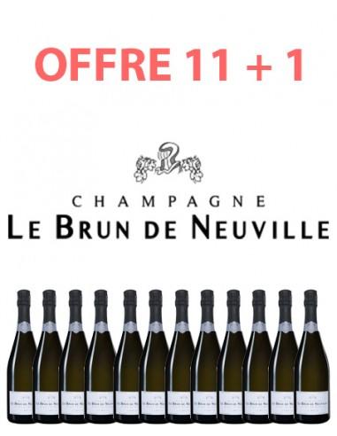 Offre Pack Champagne Le Brun de Neuville