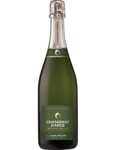 Champagne Chassenay d'Arce Cuvée Apolline Demi-sec - Chai N°5