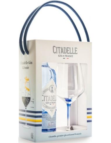 Gin Coffret Citadelle Original + 1 Verre - Chai N°5