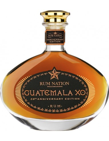 Rum Nation Guatemala XO Anniversary Decanter