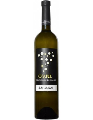 Vin OVNI Blanc 2017 - Domaine Mourat - Chai N°5