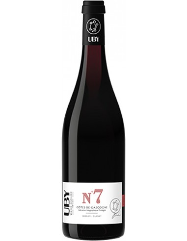 Vin Uby N°7 Merlot-Tannat 2020 - Domaine Uby - Chai N°5