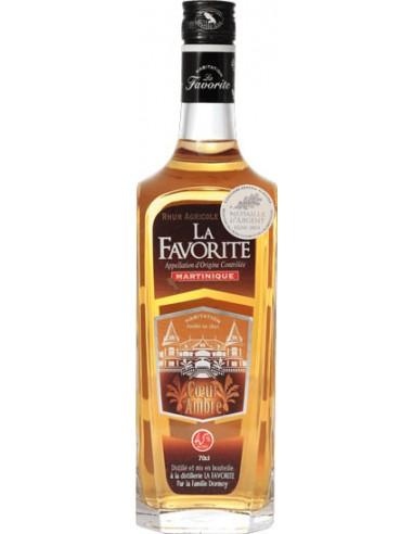 Rhum La Favorite Coeur d'Ambre - Distillerie La Favorite - Chai N°5