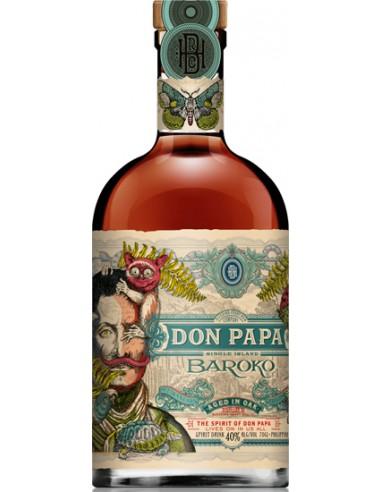 Rhum Don Papa Baroko - Chai N°5