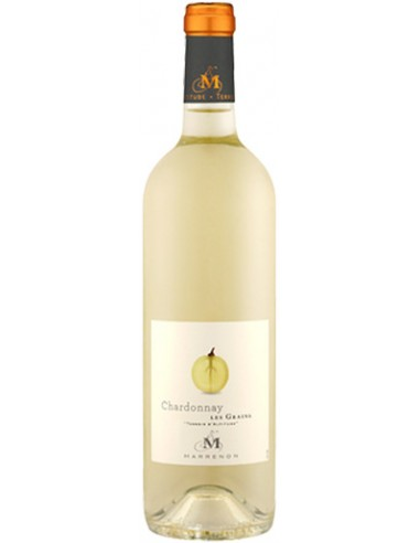 Vin Les Grains Chardonnay 2018 de Marrenon - Chai N°5